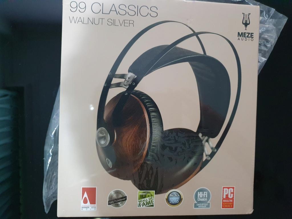MEZE 99 Classic headphones NEW IN BOX (SOLD) 20210313