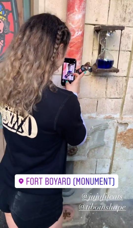 Photos des tournages Fort Boyard 2021 (production + candidats) - Page 37 20210511