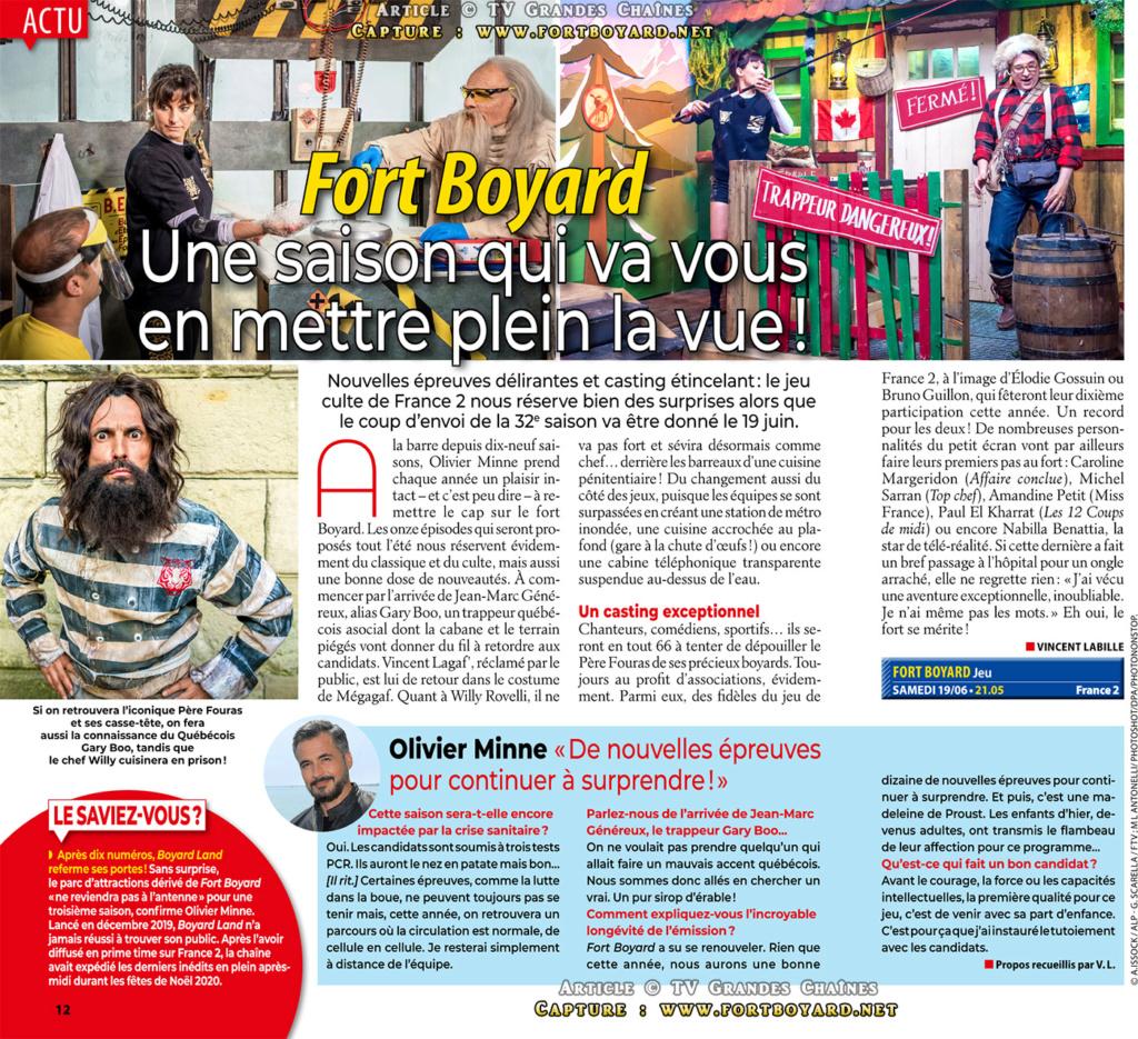 Boyard Land - France 2 - Saison 2 (2020) - Page 20 Fortbo13