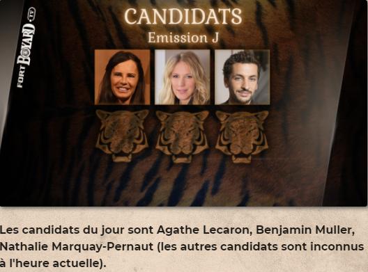 Équipes et candidats de Fort Boyard 2021 - Page 22 Tourna10