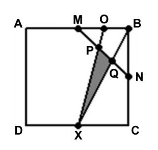 Área do triângulo Quadra11