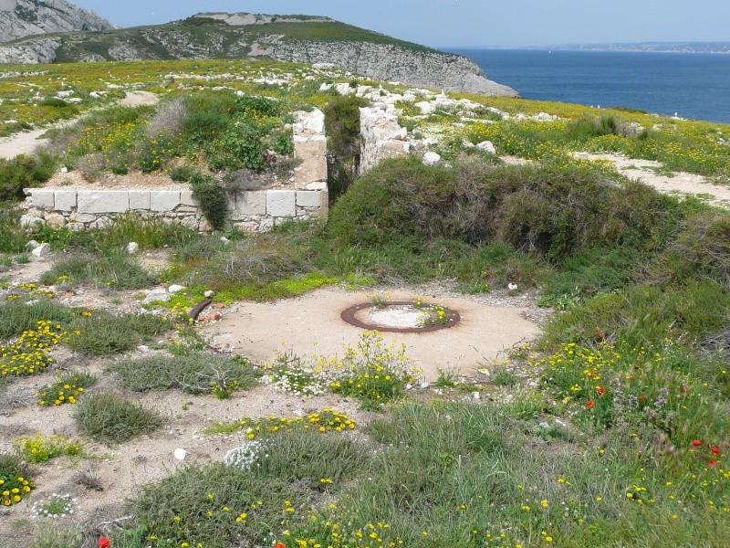 Batterie Cap de Croix (Frioul, Marseille, 13) Ancien11