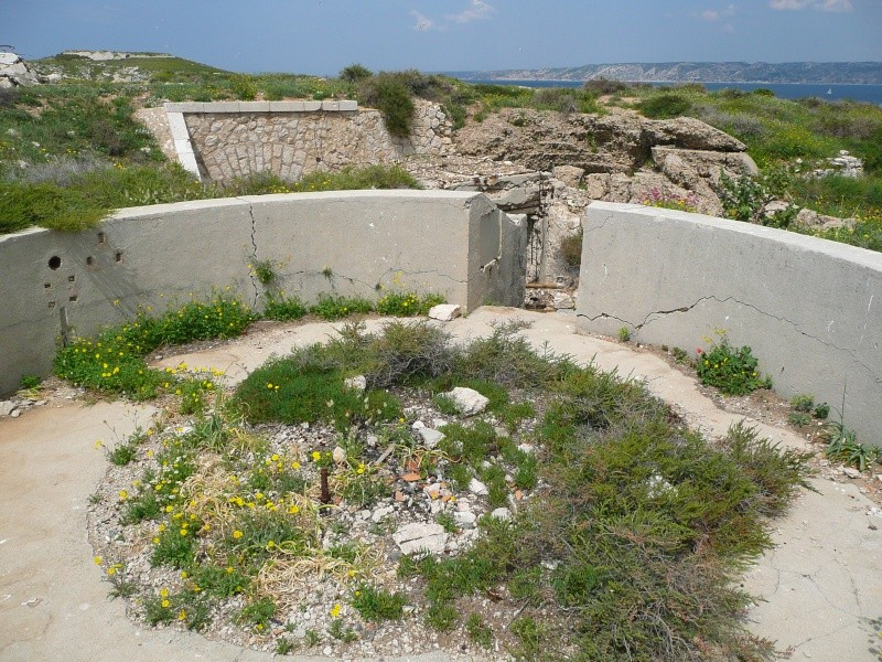 Batterie Cap de Croix (Frioul, Marseille, 13) Ancien12