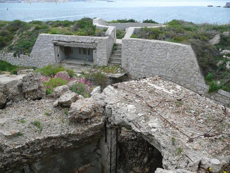 Batterie Cap de Croix (Frioul, Marseille, 13) Ancien13
