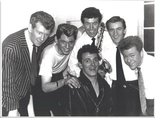 Gene & Eddie et les Four Beat Boys Beat-b10