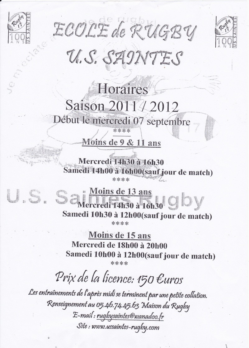 Rugby : Club de Saintes Img10