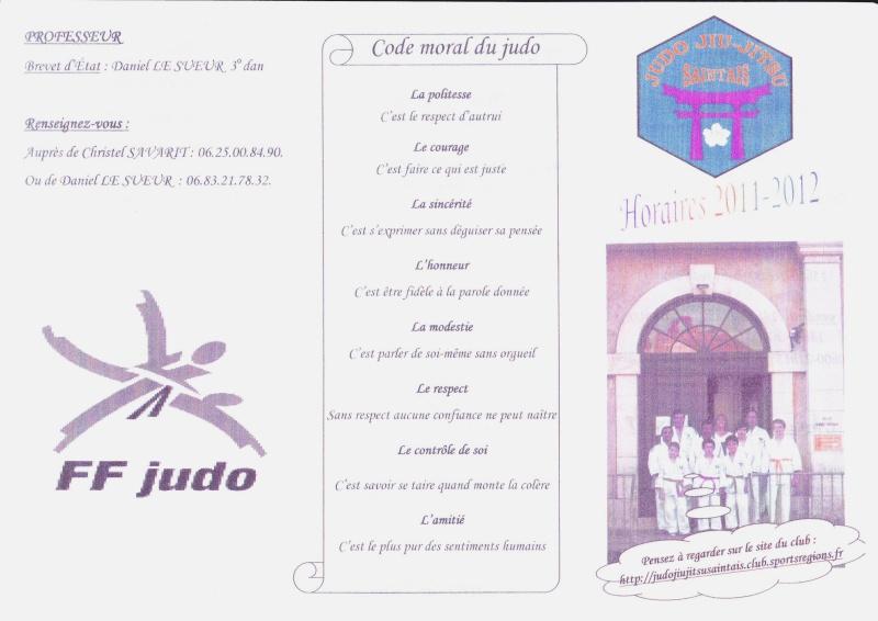 Judo : Club à Saintes - St Georges des coteaux et Tesson Img11