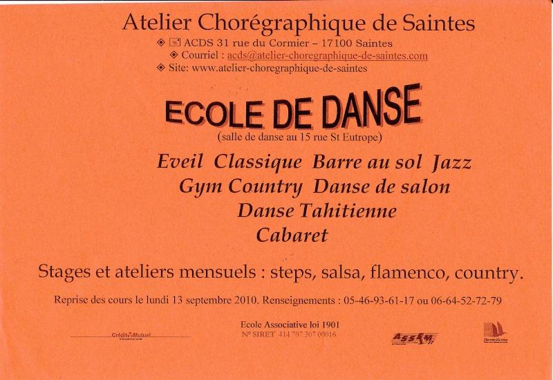 Danse classique - Jazz - Country - de salon - Tahitienne - cabaret : à Saintes Img_0031