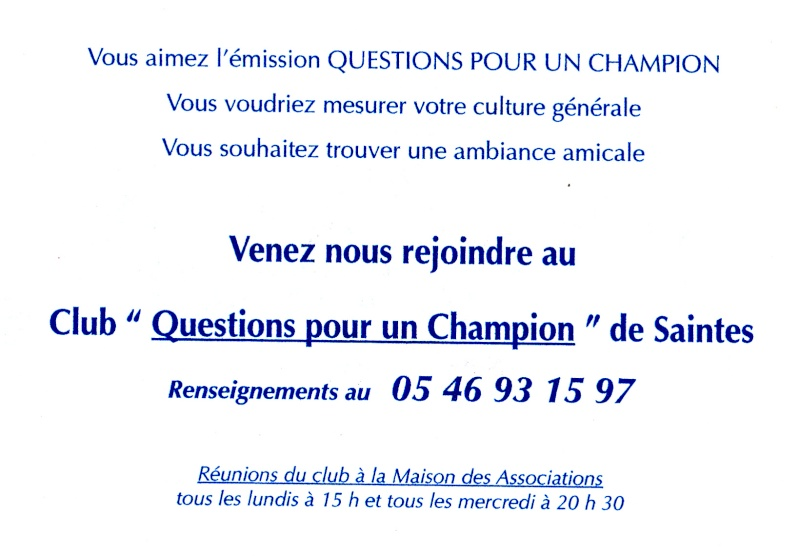 Questions pour un champion : club de Saintes Img_0036
