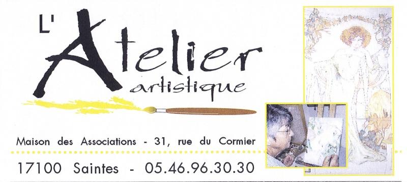 Peinture - Peinture sur soie  - Aquarelle : à Saintes Img_0037