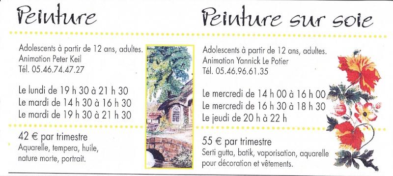 Peinture - Peinture sur soie  - Aquarelle : à Saintes Img_0038
