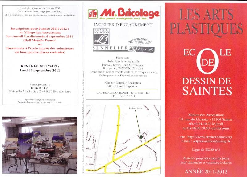 Arts plastiques - Dessin - peinture - sculture - terre cuite - encadrement : à Saintes Img_0047