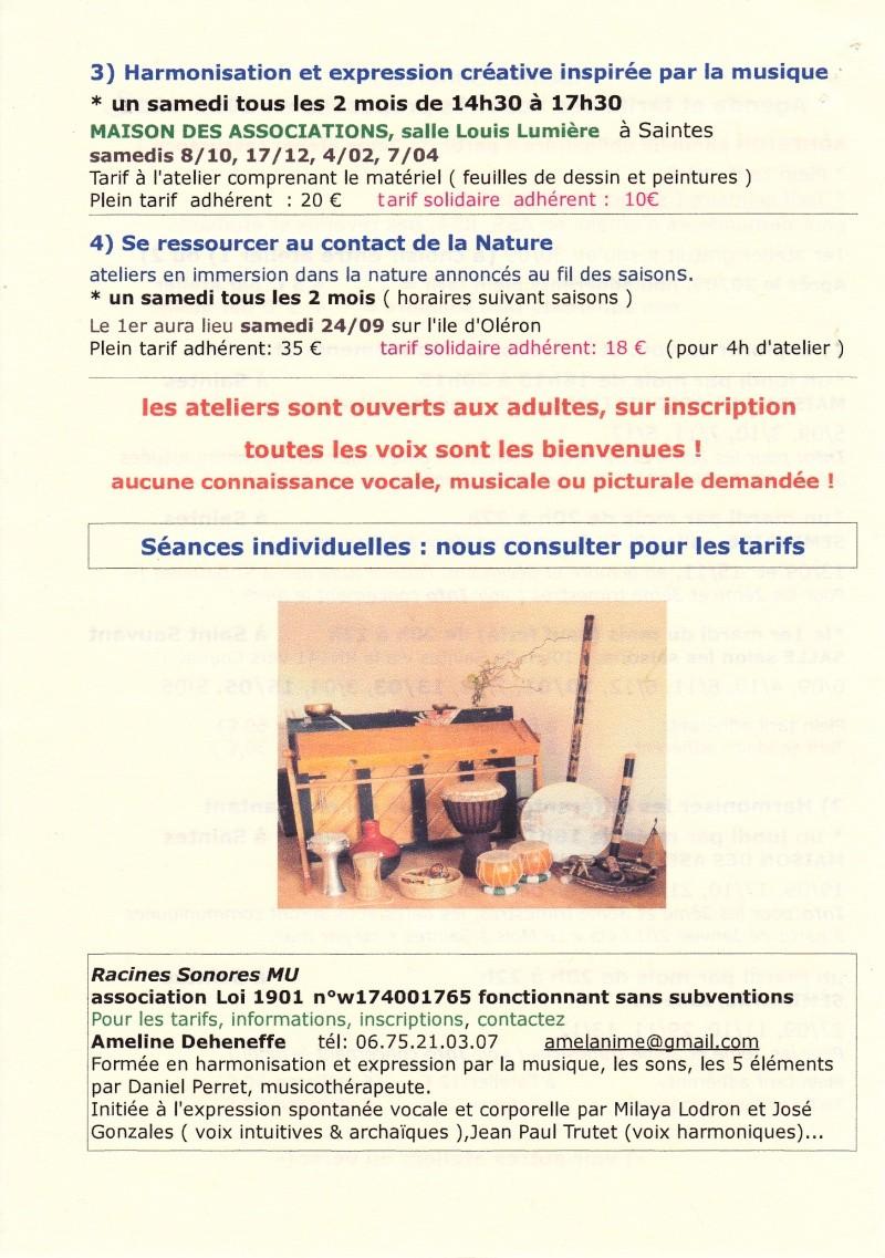 Atelier autour de la voix et des sons - Harmoniser les parties de soi en chantant à Saintes Img_0069