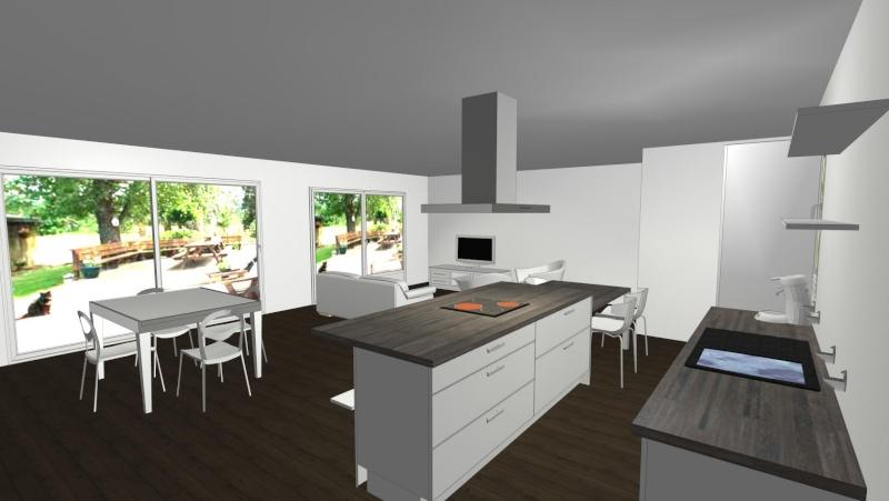 Notre Maison Neuve Idée Déco Salonsalle à Manger - Image decoration salon salle a manger