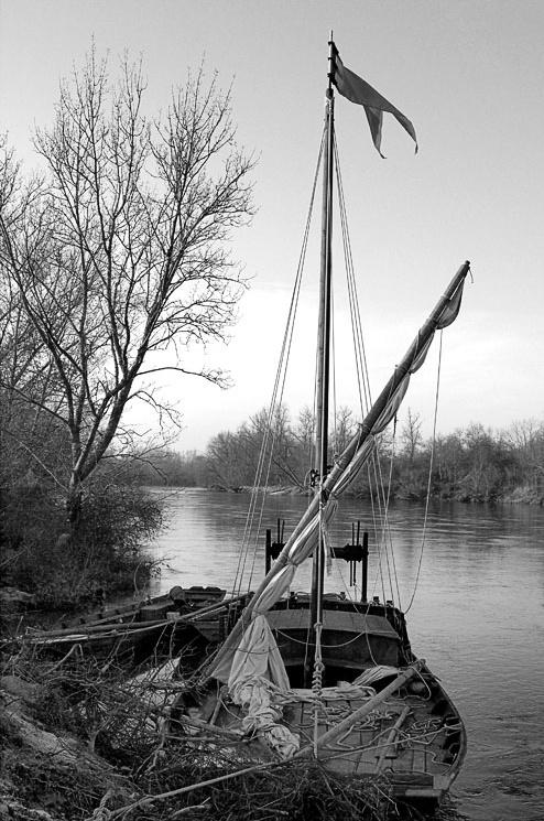 Bord de Loire .... Barque10