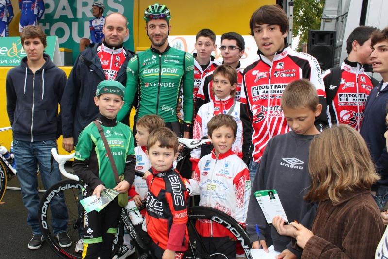 Saïd HADDOU et le CSM Clamart ensemble sur le Paris Tours 2011 20111010