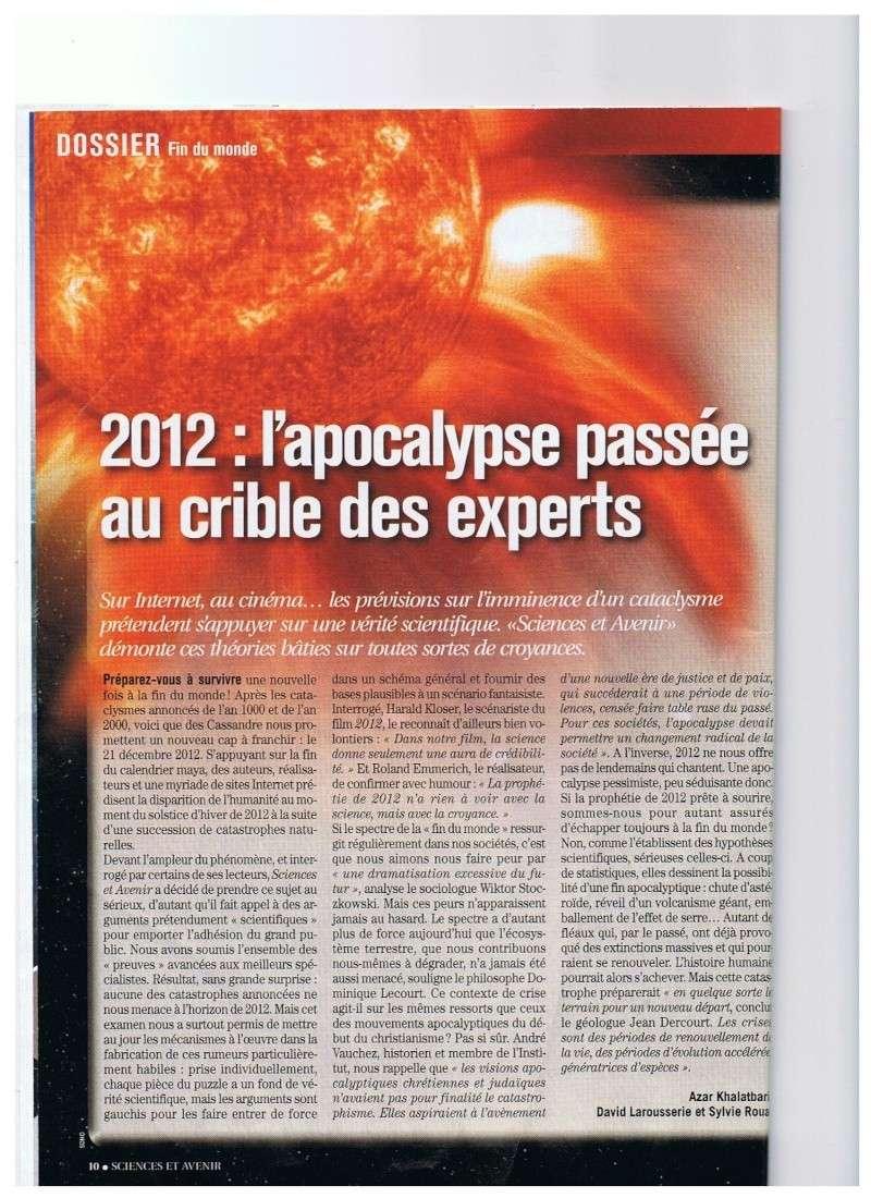 La NASA balaye les rumeurs sur la fin du monde en 2012 01010