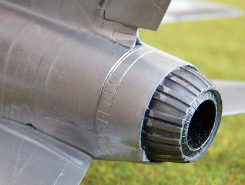 North American F-100A, première série. F-100a14