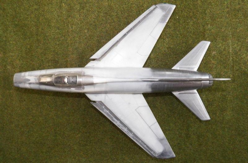 North American F-100A, première série. F-100a20