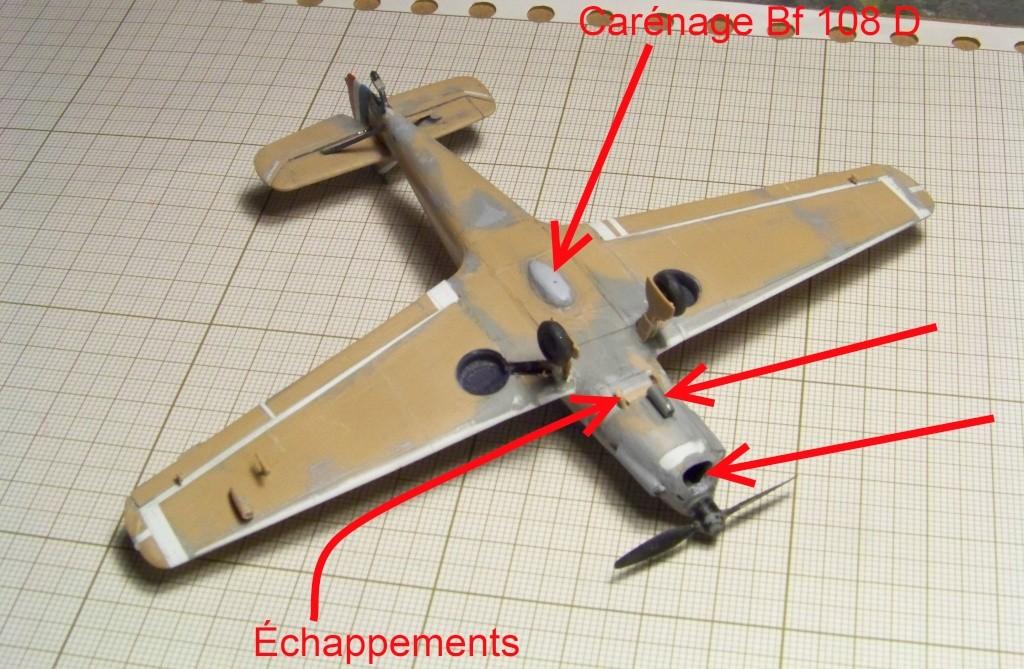 [Heller] SNCAN N-1000 Pingouin sur base Bf 108 B-1 Nord_n10