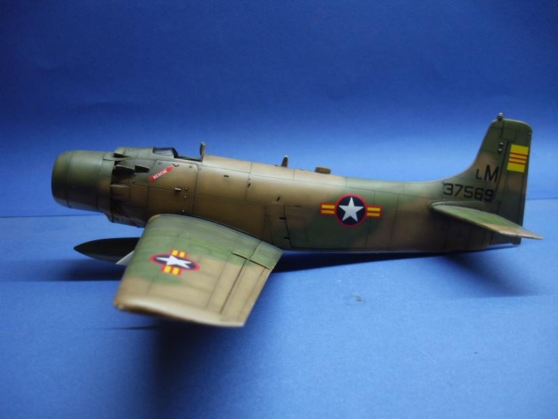 Douglas A1H Skyraider SVNAF  Dsc00227