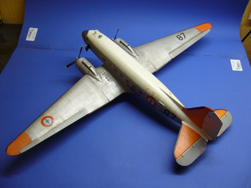 C 47 D Dakota, Aéronautique Navale Française. Trumpetter 1/48 P1020253