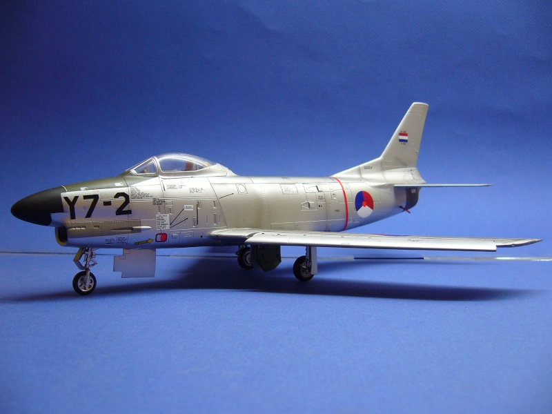 TESTSHOTS - 1/48 F-86 K Sabre from MustHave! P1020317