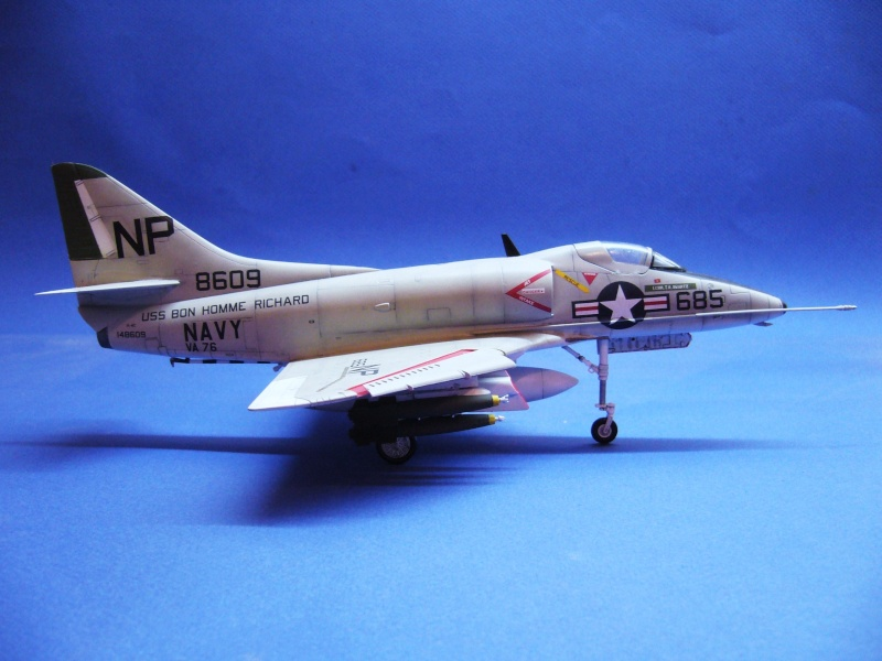 Douglas A-4C Skyhawk Hobbycraft, 1/48 P1030132