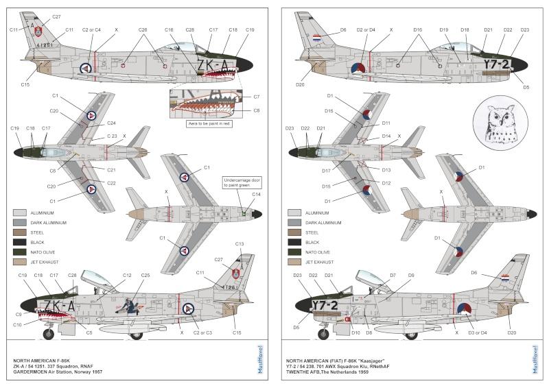 TESTSHOTS - 1/48 F-86 K Sabre from MustHave! Visuel10