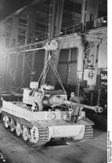 La Production des Panzer 00058210