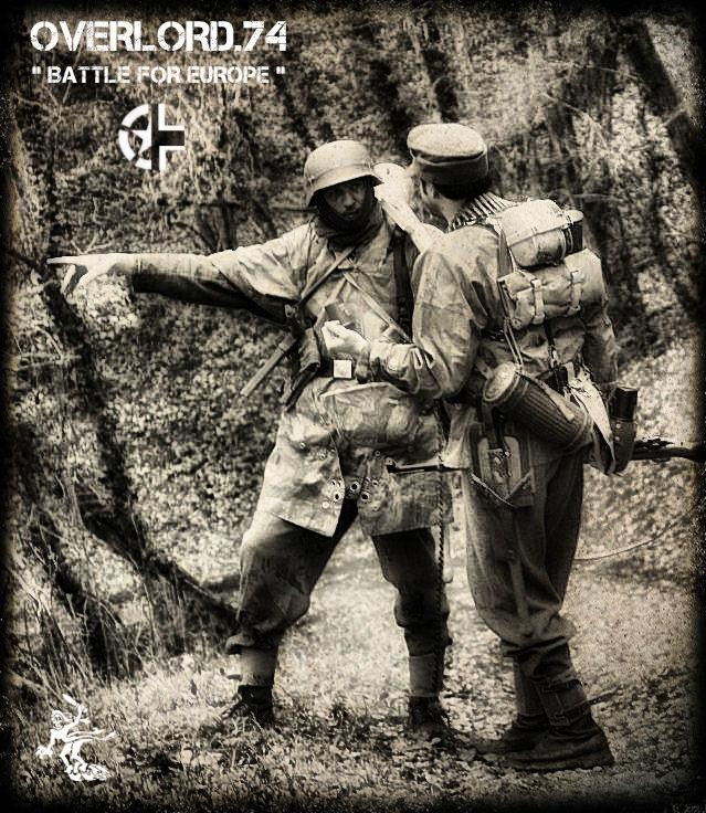 """OVERLORD.74 - Team """"11 eme PzDiv"""" 1944/45 004_1910"""