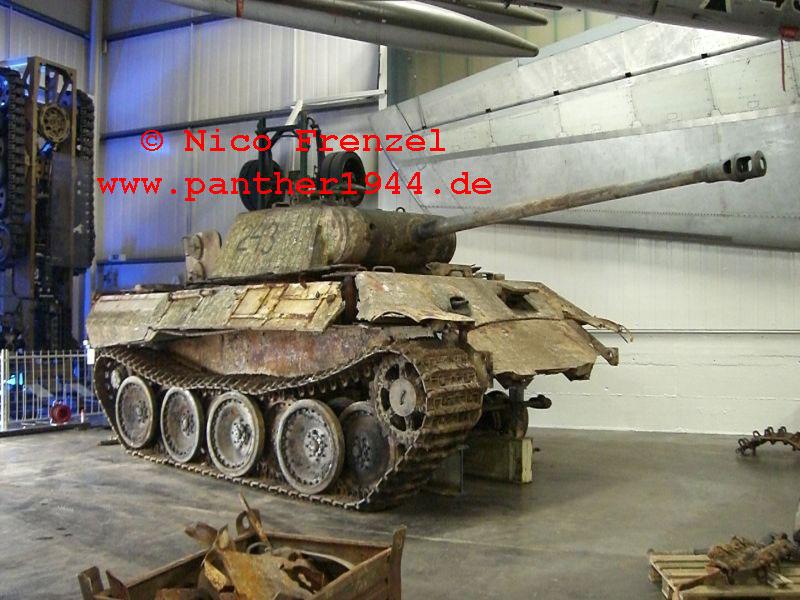 Panther Ausf. A im Technik Museum Sinsheim - DE 00610
