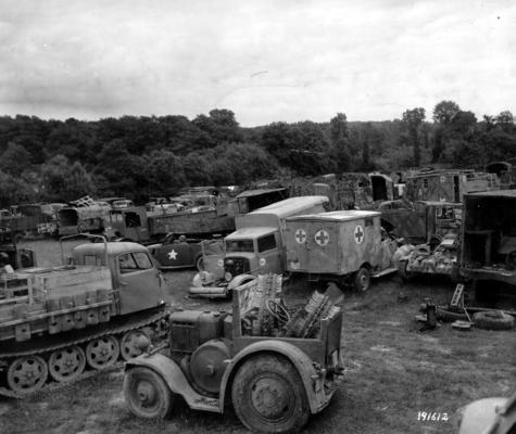 Panzer Wreck - Normandie 1944 019810