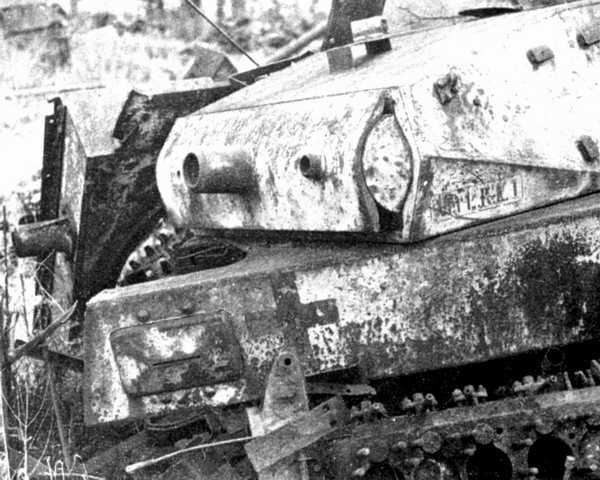 Panzer Wreck - Normandie 1944 01trun10