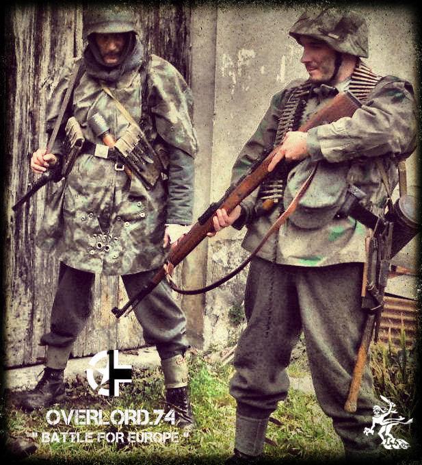"""OVERLORD.74 - Team """"11 eme PzDiv"""" 1944/45 03255010"""