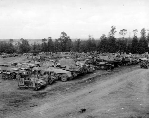 Panzer Wreck - Normandie 1944 088310