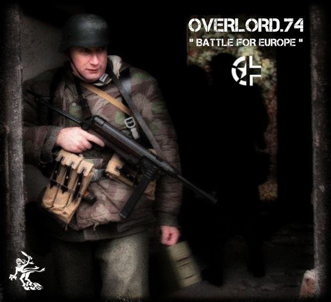 """OVERLORD.74 - Team """"11 eme PzDiv"""" 1944/45 11747110"""