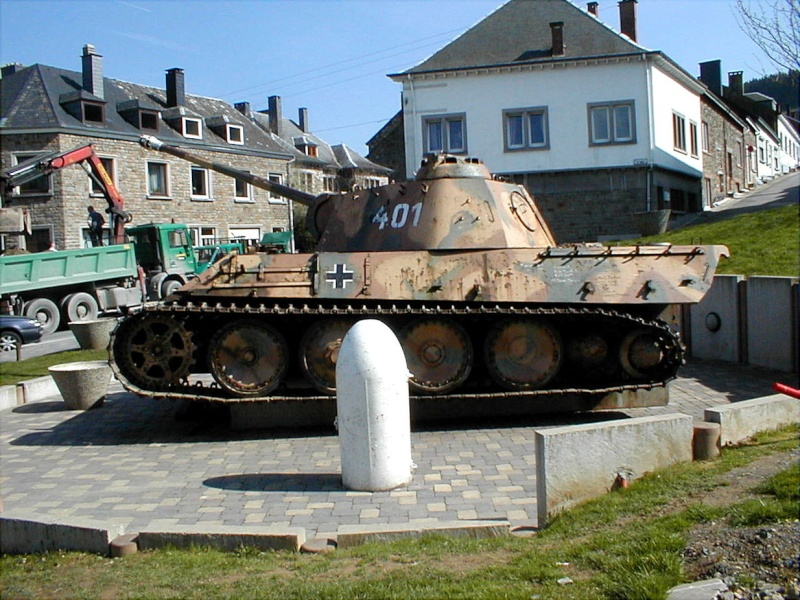 Houffalize - Panther Ausf. G - Belgique 1234px11