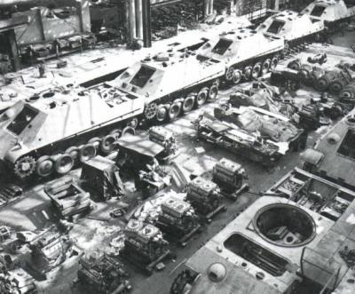 La Production des Panzer 12791510