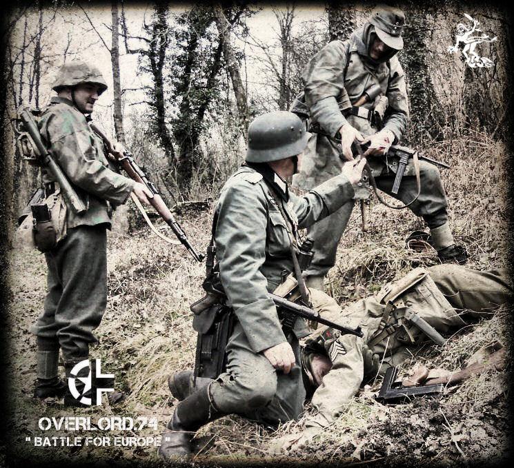 """OVERLORD.74 - Team """"11 eme PzDiv"""" 1944/45 13830810"""