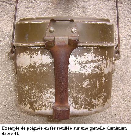 HEER et Waffen - les Gamelles M1910 et M1931 1410