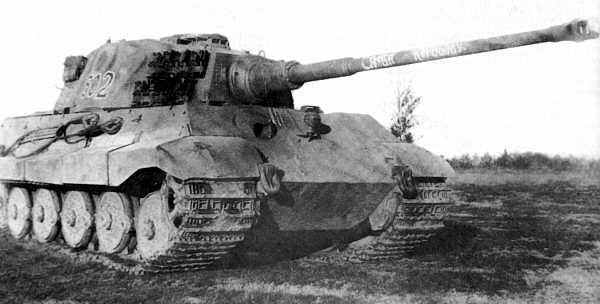 Panzerkampfwagen VI - Königstiger 16110