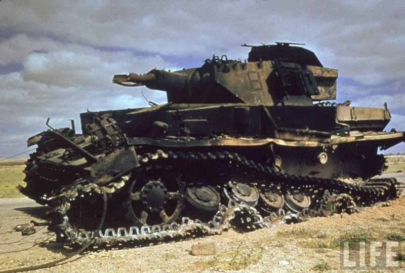 Panzer Wreck in Color !!! 1cca8010