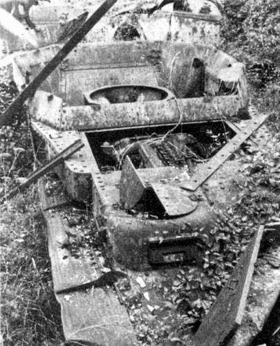Panzer Wreck - Normandie 1944 1trun-12