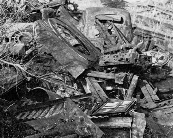 Panzer Wreck - Normandie 1944 1trun-13