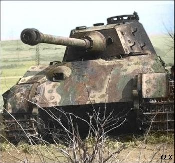 Panzer Wreck in Color !!! 20090110