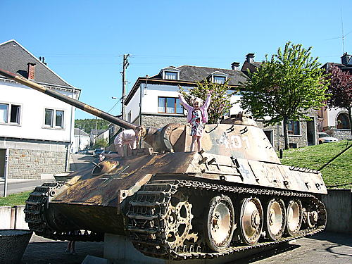 Houffalize - Panther Ausf. G - Belgique 23841410