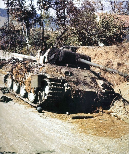 Panzer Wreck in Color !!! 24398610