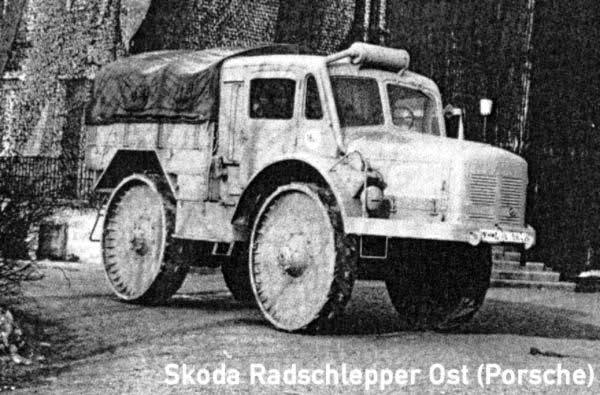 Porsche Typ 175 ( Radschlepper ost) 246jms10