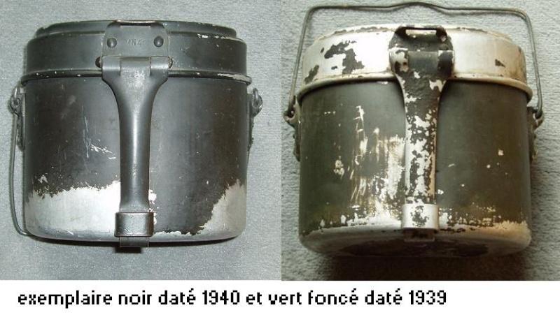 HEER et Waffen - les Gamelles M1910 et M1931 2510